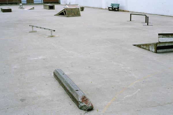 Dufferin Grove Skatepark, Toronto, 2016