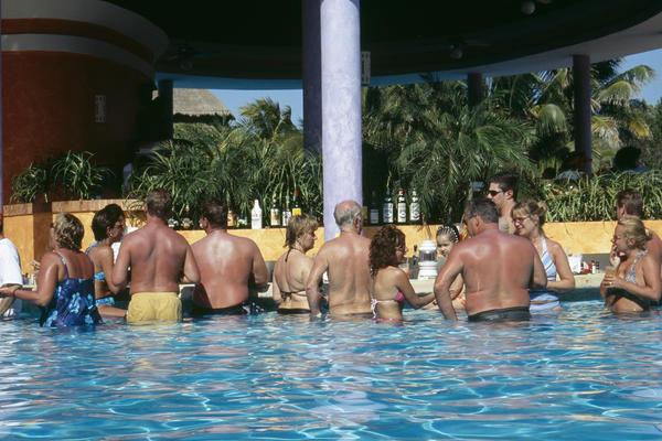 Tourists, Mexico, 2004